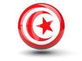Kulatá ikona Tuniská vlajka