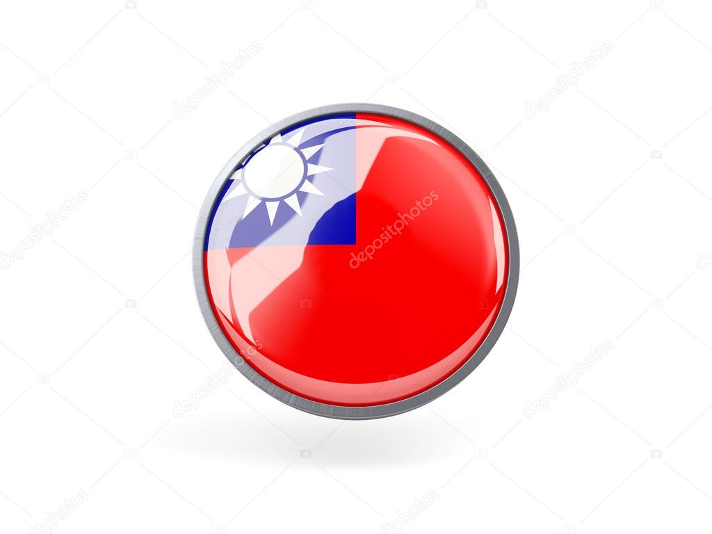 Round Icon With Flag Of Republic Of China Stock Photo C Mishchenko 67207967