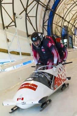 Bobsleigh World Cup  Calgary  Canada   2014