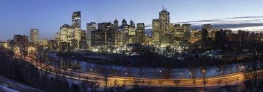 Downtown Calgary at Night.
