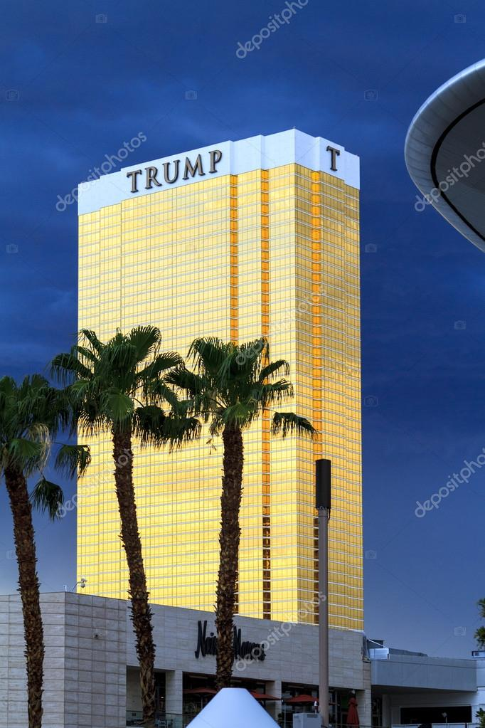 The Trump Building and Fashion Show Mall