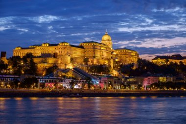 Budapest Castle at Sunset, Hungary