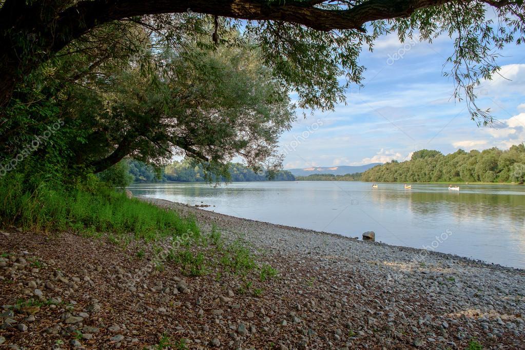 Danube river in Hungary