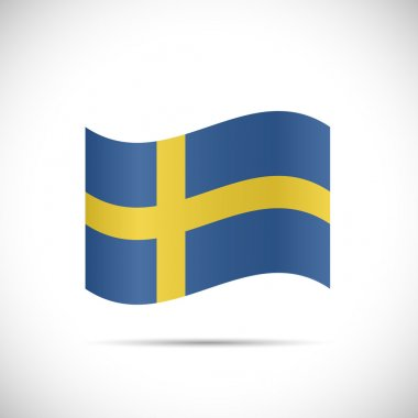 Sweden Flag Illustration