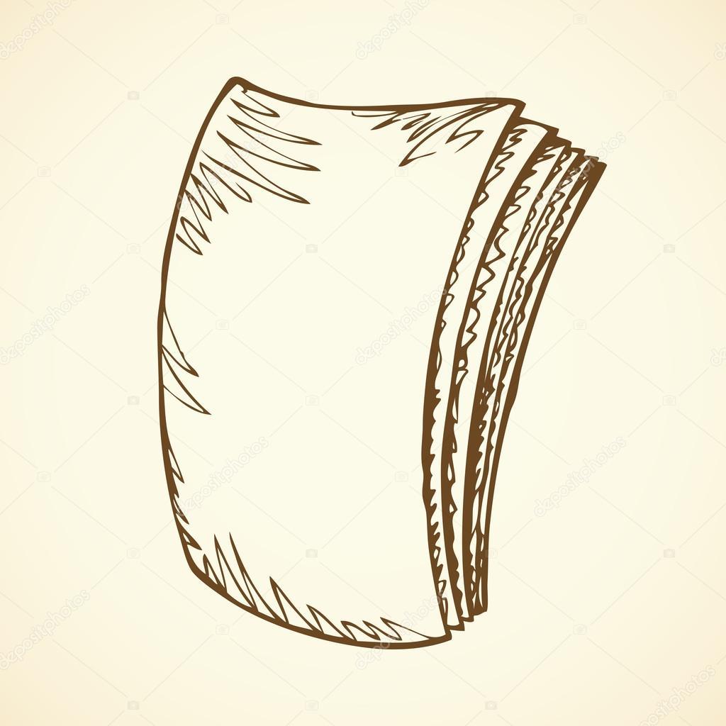 Livre Ferme Dessin Vectoriel Image Vectorielle Marinka