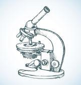 Mikroskop. Vektorové kreslení