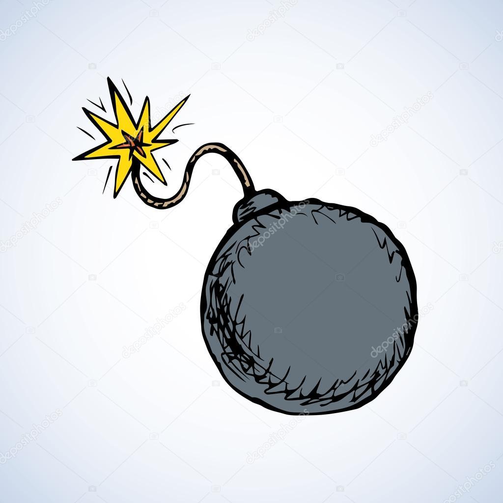 nagy fekete bomba