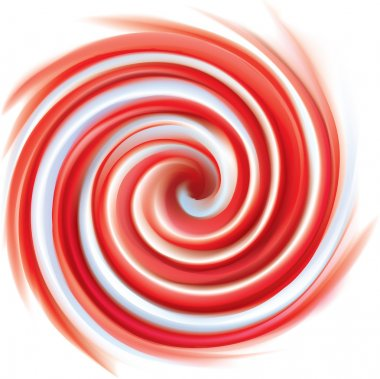 Pink and white candy cane sweet spiral abstract background