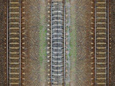 Seamless railroad Pattern, backdrop