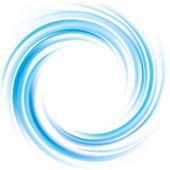 Vector háttér a kék kavarognak a víz felületi