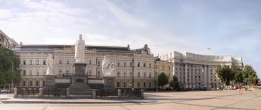 St. Michael's square and Princess Olga monument