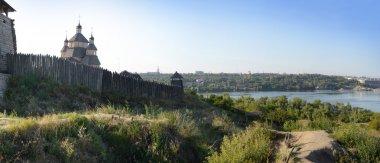 Fortified settlement Ukrainian Cossacks