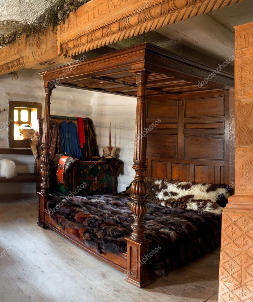 Ancienne chambre intérieure du chef militaire de — Photo éditoriale ...