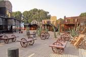 Open Air Bilder Restaurace v Sousse, Tunisko - salon styl