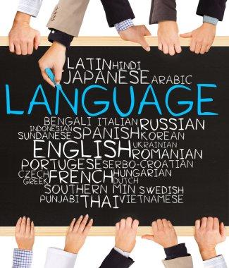 LANGUAGE concept words