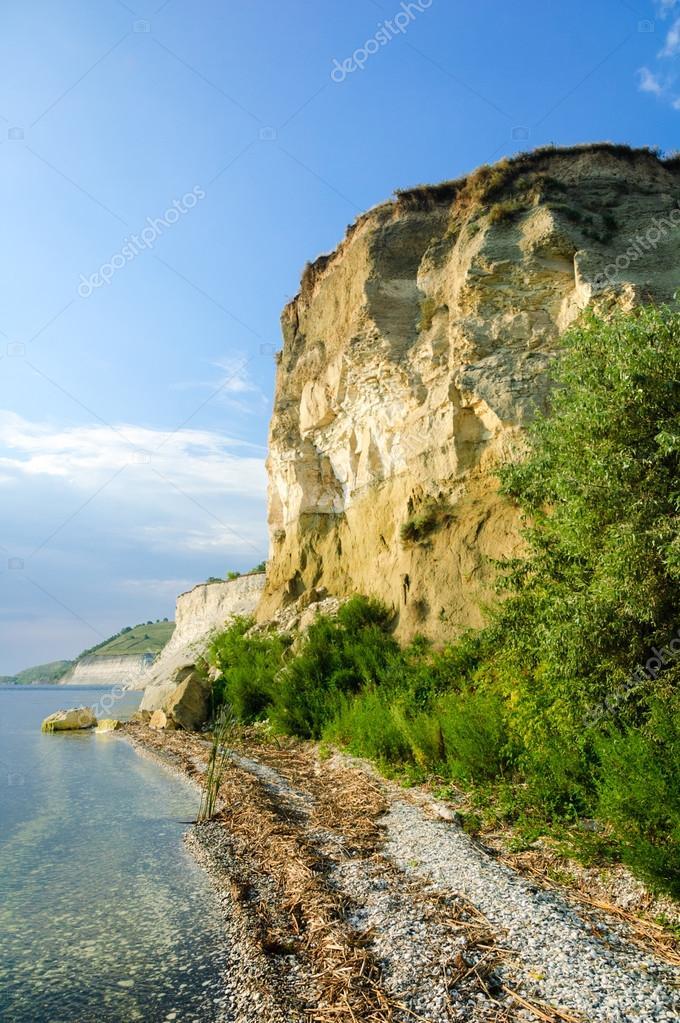 Stepan Razin Cliff, Saratov Region, Russia