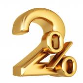 Photo 2 percent discount from gold.
