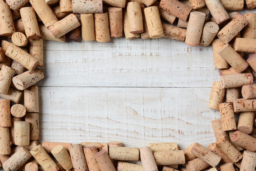 Cork Frame — Stock Photo © scukrov #61254537