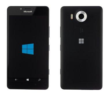 Varna, Bulgaria - December 10, 2015: Cell phone model Microsoft
