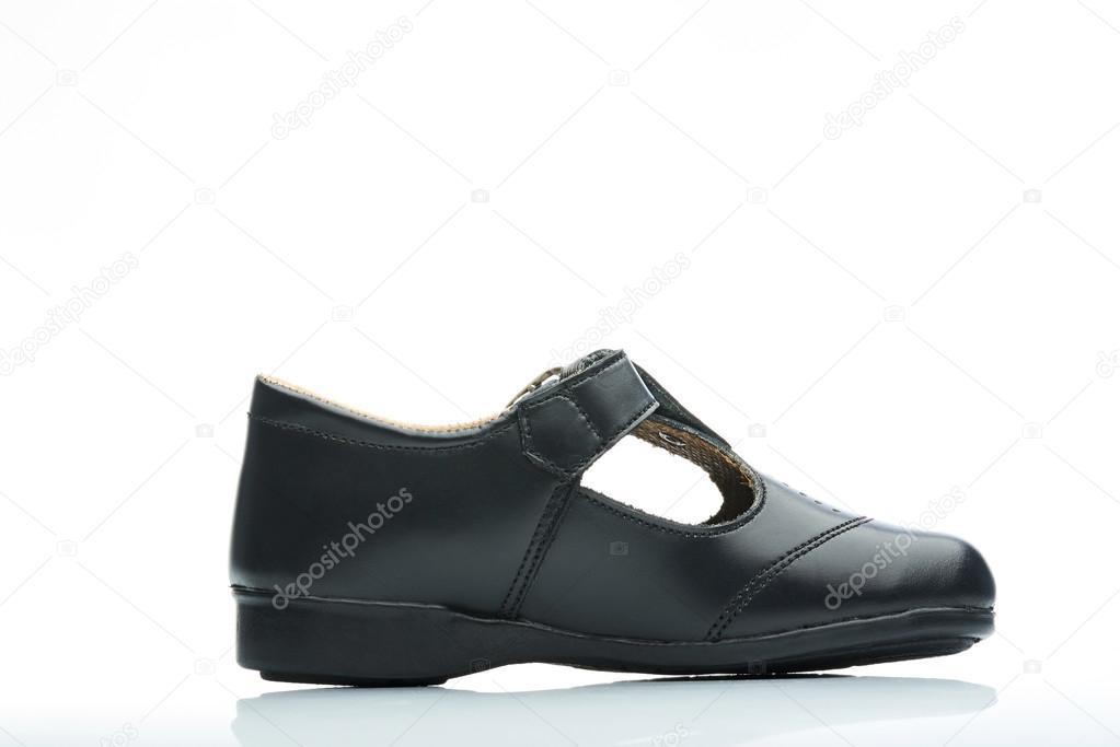 nouveau produit 4e885 83c36 Chaussures classique fille côté — Photographie dimarik ...
