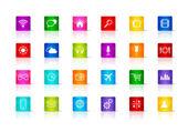 Fotografie Desktop-Icons Sammlung