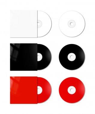 CD - DVD mockup