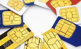 Fotografie Microchip SIM cards