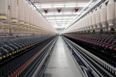 Textile industry - Spinning