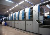 Fotografie Printing plant - Offset press machine