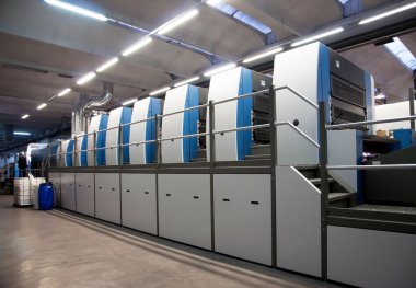 Printing plant - Offset press machine
