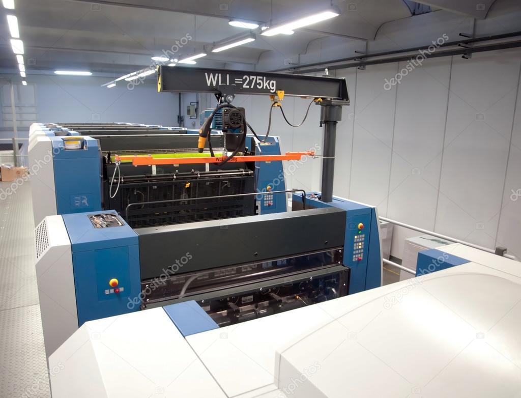 Printing plant - Offset press machine