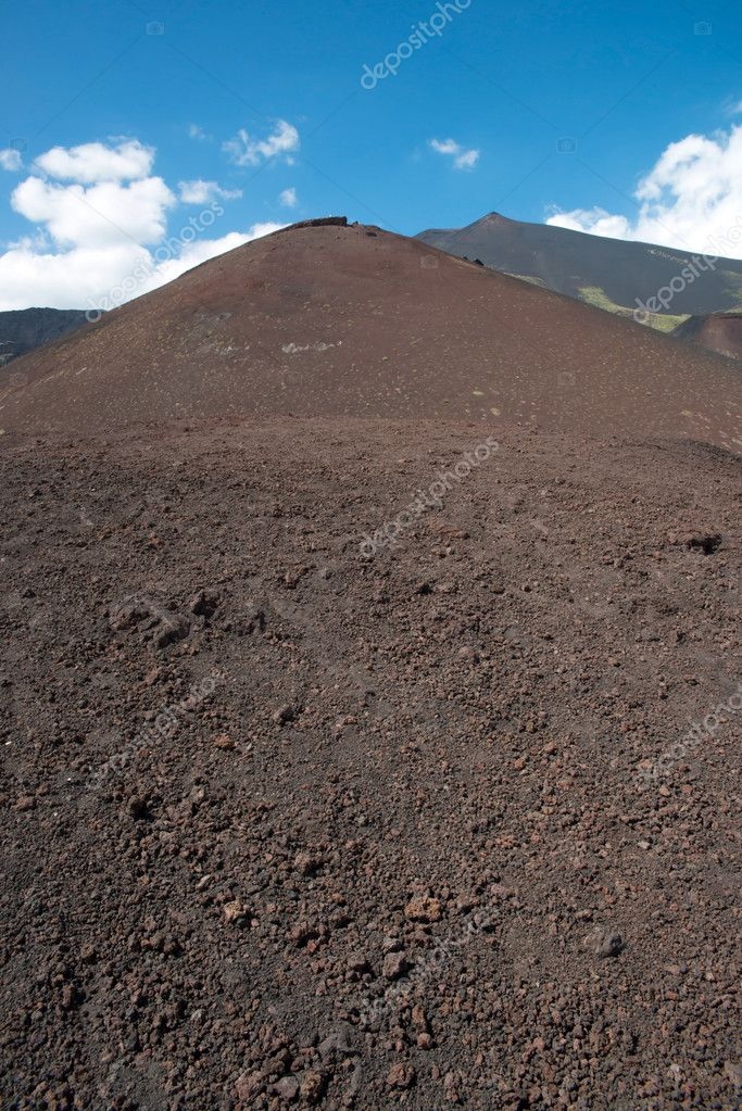 Active stratovolcano Etna, Italy