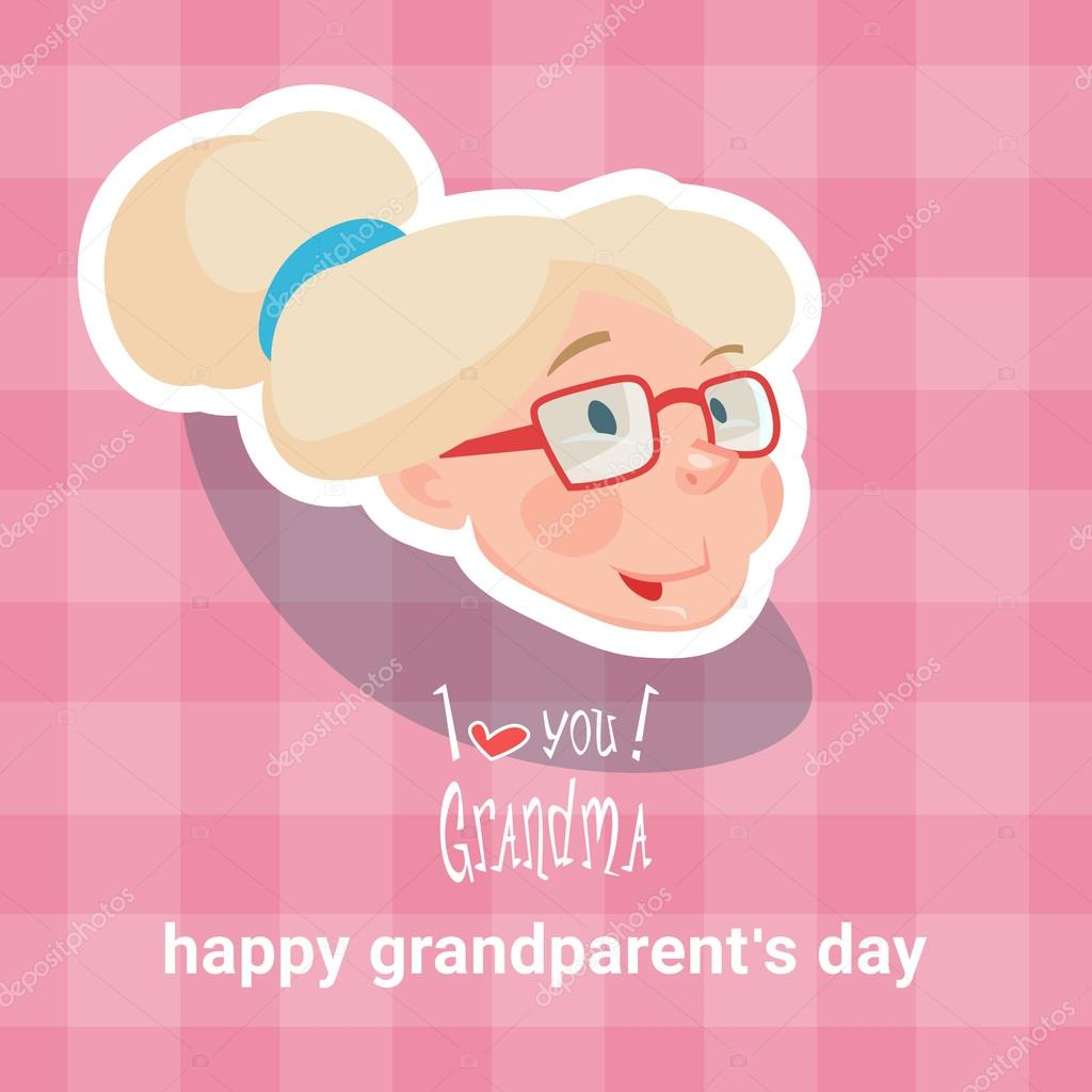 Grandmother happy grandparents day greeting card stock vector grandmother happy grandparents day greeting card stock vector m4hsunfo