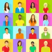 emberek avatar ikonok beállítása