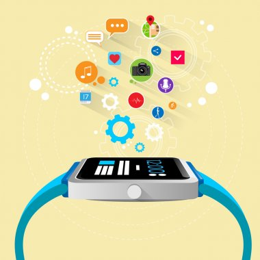smart watch device with apps