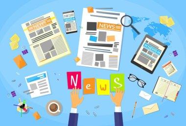 News, Editor Desk Workspace