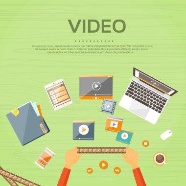Video Editor Workplace