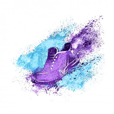Sneaker Splash Paint