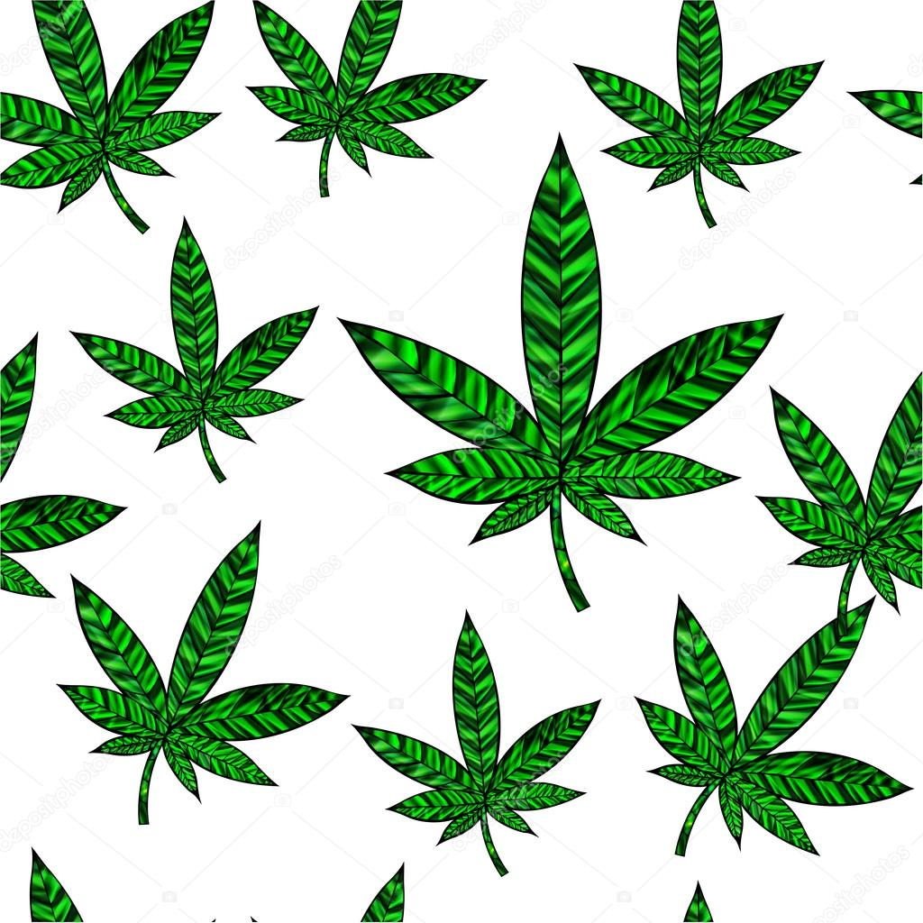 緑のカナビスの葉っぱ ストックベクター Suwanneeredhead 106236120