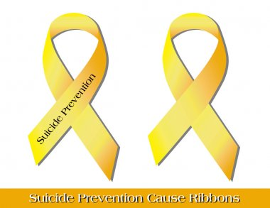 Suicide Prevention Ribbons