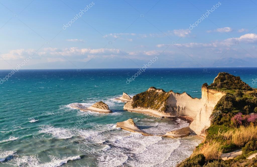 Corfu island seascape