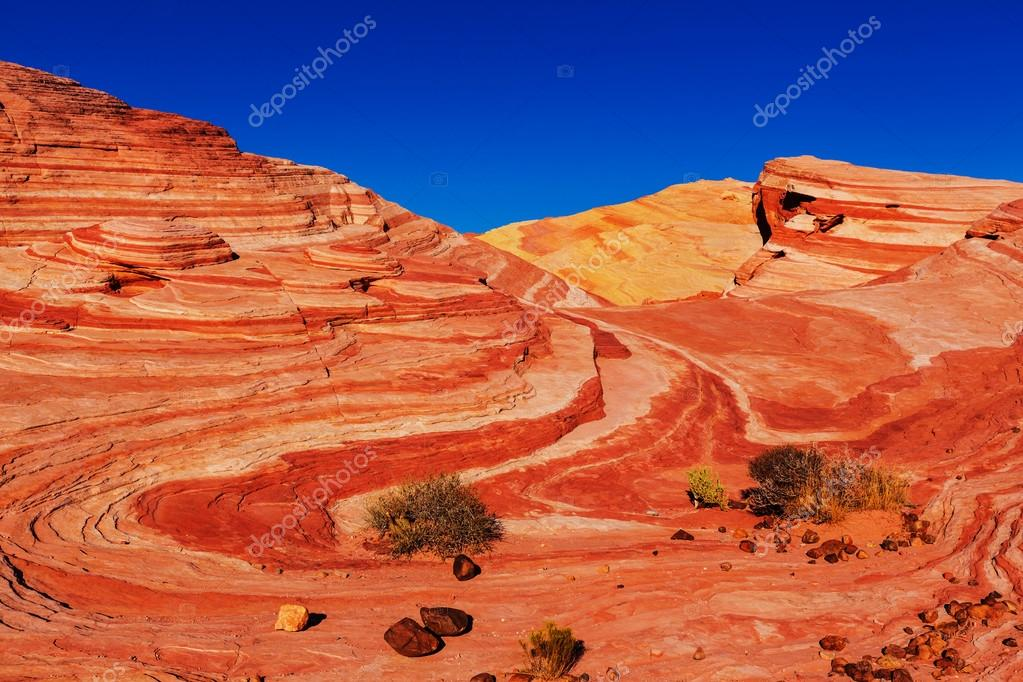 landscape of Valley of Fire
