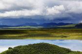 malebné hory na Aljašce