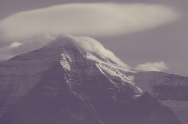 Picturesque Mount Robson