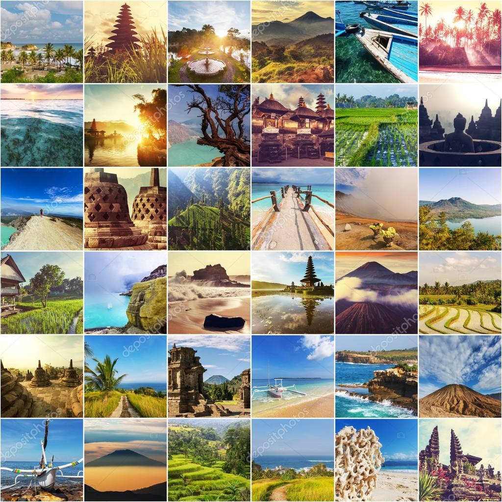 Indonesia landscapes