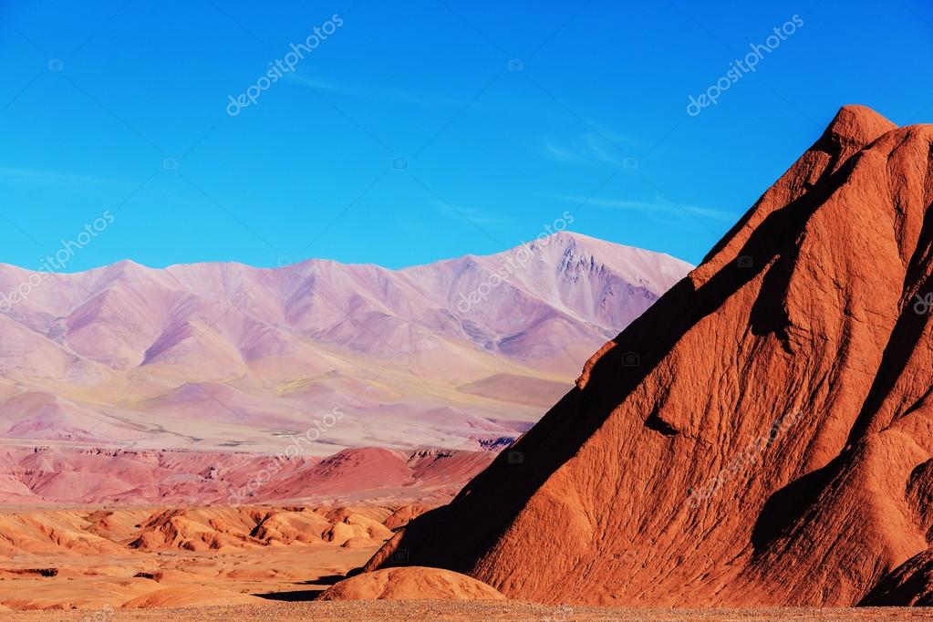 Mountain Plateau La Puna