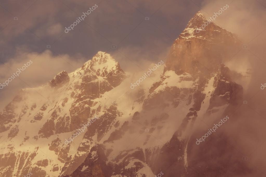 Himalaya mountains  panorama