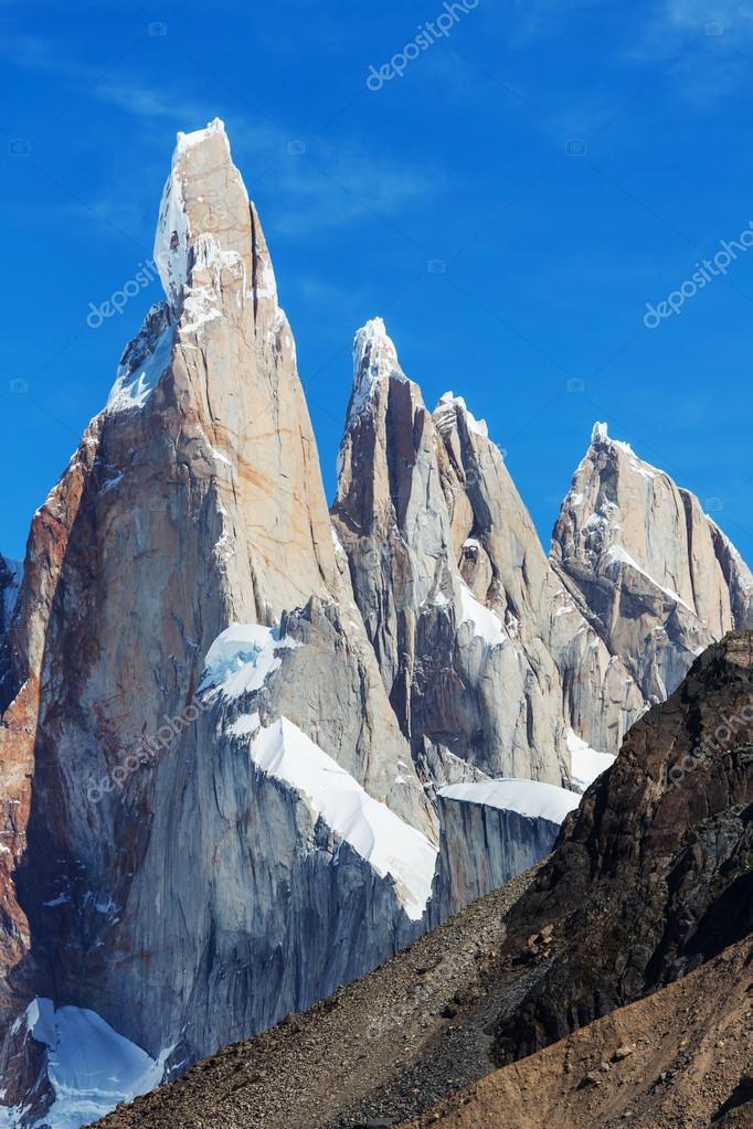 Cerro Torre mountain  in Argentina