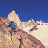 Fényképek Ember természetjáró-Patagonia