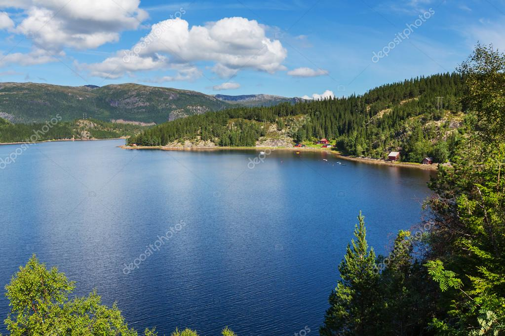 Norway landscapes panorama
